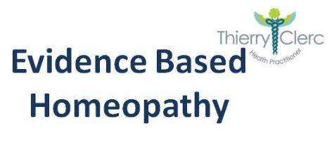 Evidence Based Homeopathy